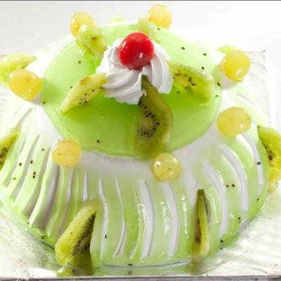 Kiwi Jelly cake