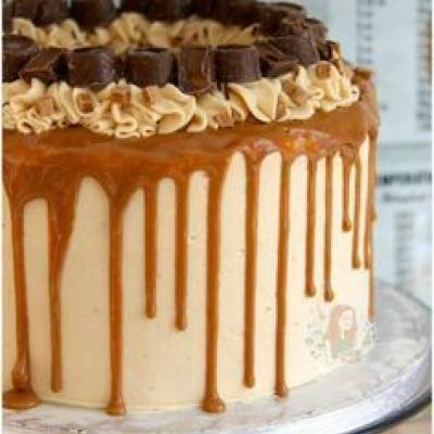 Chocolate Butterscotch Cake