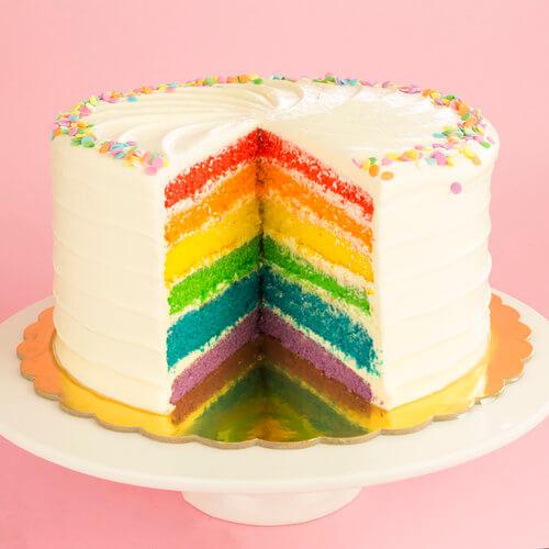 Rainbow Cake In Indore 3 Kg Cakestudio