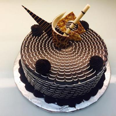 Zebra Torte Cake