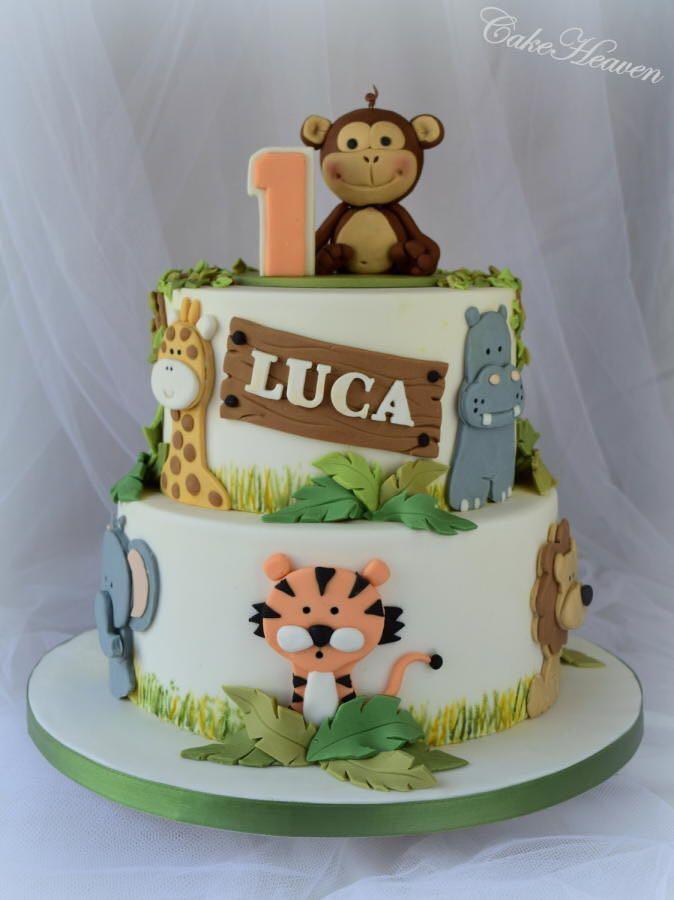 Zoo Theme Cake In Ranchi 25 Kg Cakestudio
