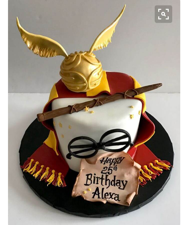 Harry Potter Theme Home Designer Cakes