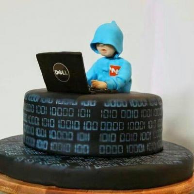 Hacker cake